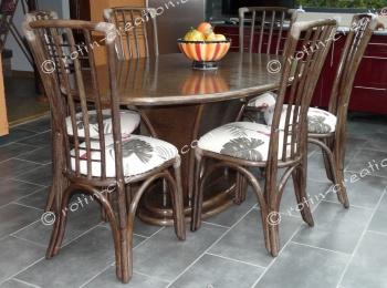 chaise manosque sans accoudoirs chaise haut dossier contemporaine. Black Bedroom Furniture Sets. Home Design Ideas