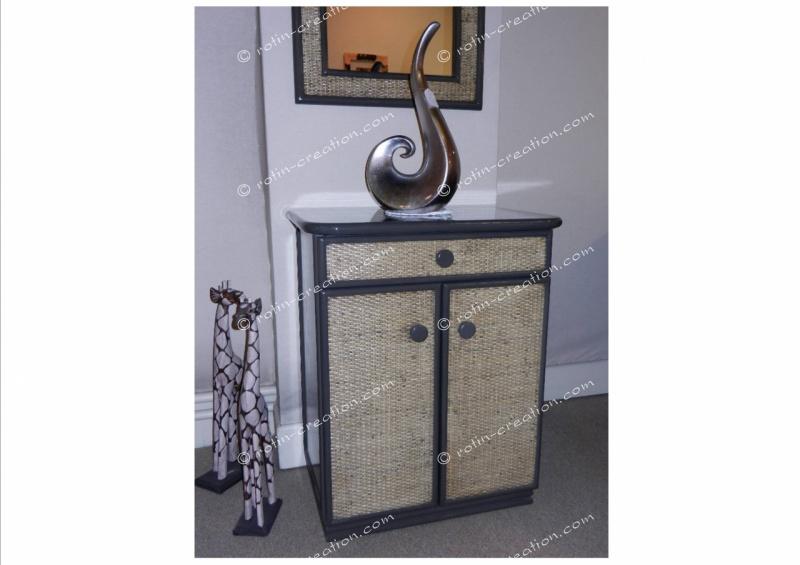 meuble limoges petit meuble de rangement 1 tiroir et 2 portes. Black Bedroom Furniture Sets. Home Design Ideas