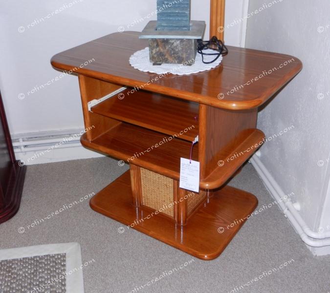 meuble hifi pivotant brest merisier meuble pour tv toute taille. Black Bedroom Furniture Sets. Home Design Ideas