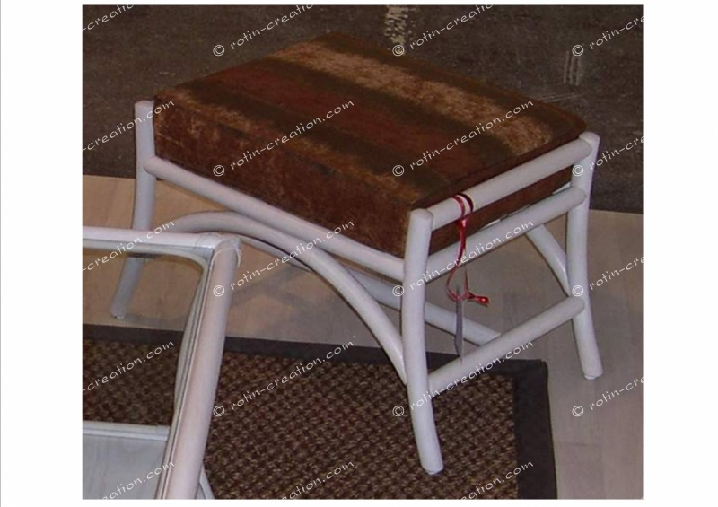 pouf new york pouf rectangulaire. Black Bedroom Furniture Sets. Home Design Ideas