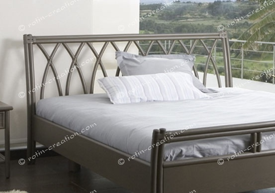 t te de lit fuveau en 160 t te de lit tout en canne de rotin sans tissage. Black Bedroom Furniture Sets. Home Design Ideas