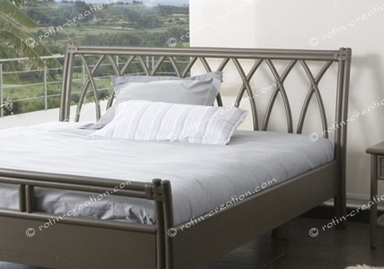 t te de lit fuveau en 180 t te de lit tout en canne de rotin sans tissage. Black Bedroom Furniture Sets. Home Design Ideas