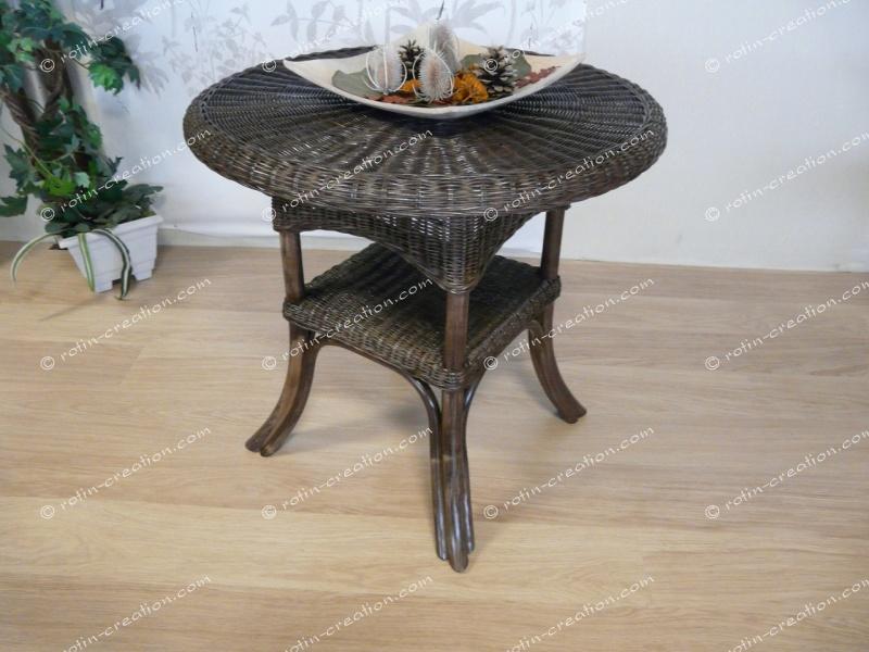 table paula ronde table ronde mi haute. Black Bedroom Furniture Sets. Home Design Ideas
