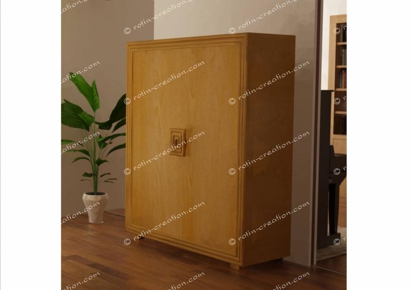 Meuble armoire nice 2 portes meuble contemporain 2 for Meuble bureau nice