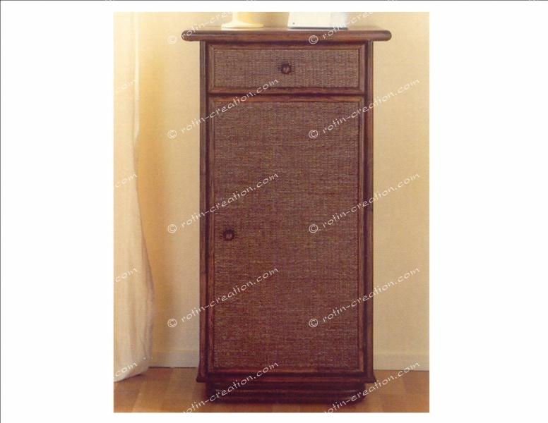 meuble t l phone henon 1 tiroir 1 porte meuble pour rangement id al entr e. Black Bedroom Furniture Sets. Home Design Ideas