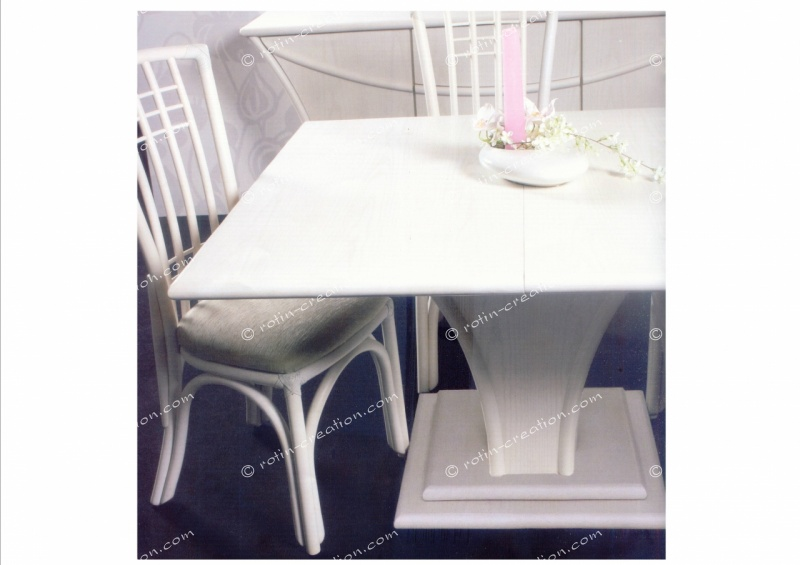table carr e milan 2 allonges table carr e avec 2 allonges. Black Bedroom Furniture Sets. Home Design Ideas