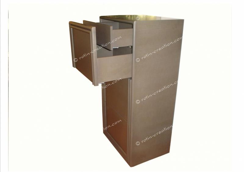 chiffonnier nice 6 tiroirs chiffonnier moderne 6 tiroirs. Black Bedroom Furniture Sets. Home Design Ideas