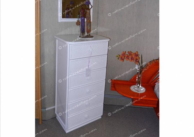 chiffonnier laque blanc maison design. Black Bedroom Furniture Sets. Home Design Ideas