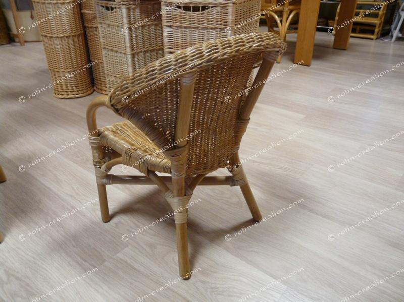 fauteuil enfant piccolo meubles en rotin pour la maison et la v randa. Black Bedroom Furniture Sets. Home Design Ideas
